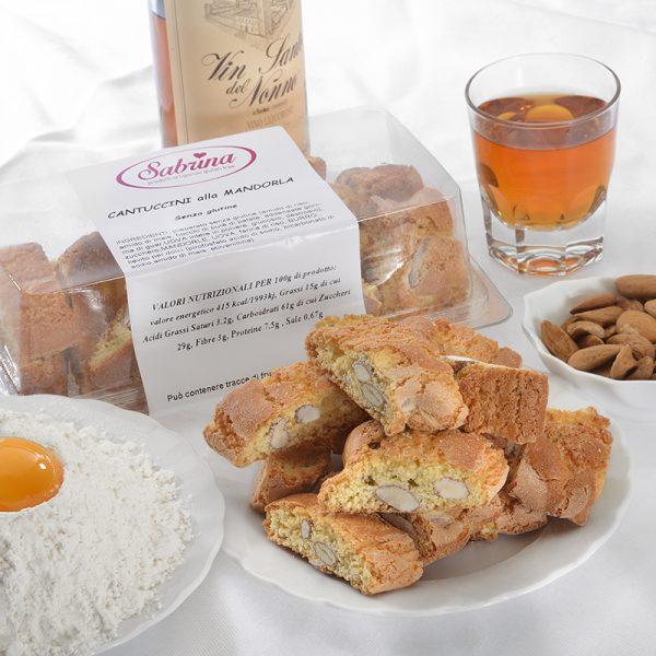 Cantuccini alla Mandorla - Sabrina Senza Glutine