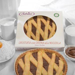 Crostata con Crema alla Nocciola - Sabrina Senza Glutine