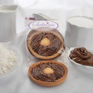 Crostatina con Crema alla Nocciola - Sabrina Senza Glutine