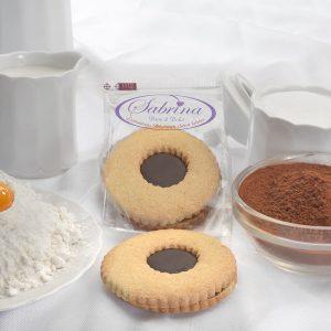 Occhio di Bue al Cioccolato - Sabrina Senza Glutine